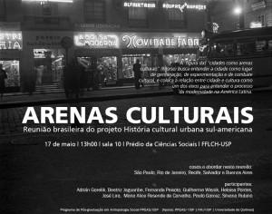 Arenas culturais – para uma história cultural urbana sul americana
