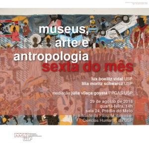 Sexta do mês: museus, arte e antropologia